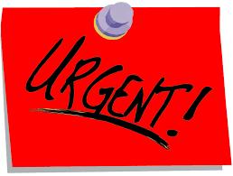 URGENT: ANNULATION COURS jeudi 15 février 2018